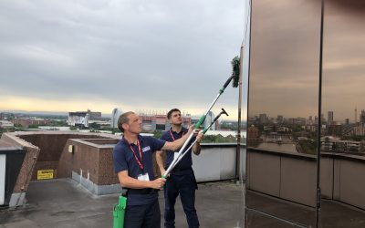 Why the water-fed pole system is better than traditional window cleaning