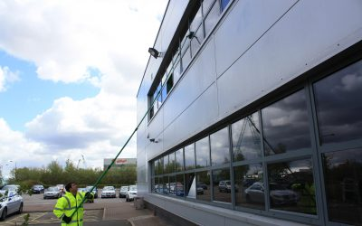 When did you last get your windows cleaned in your commercial property?